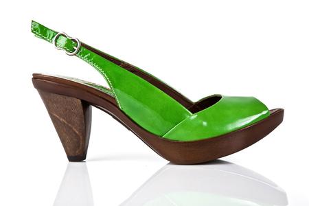 Female shoe isolated on white