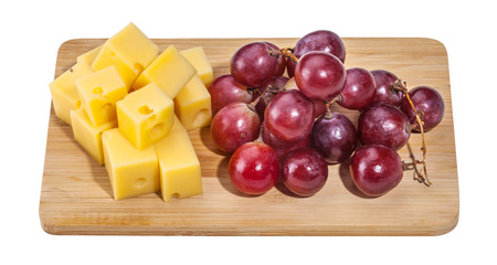 Cheese isolated and served Stock Photo - 55145137