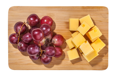 Cheese isolated and served Stock Photo - 55145204