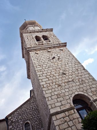 Old stone church, Island Krk, Croatia Stock Photo - 75977787