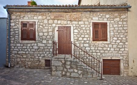 Old mediterranean stone house, Croatia Stock Photo - 75963487