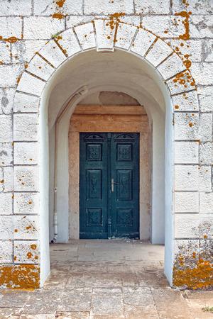 Medieval church Croatia, Peljesac Stock Photo - 120142297
