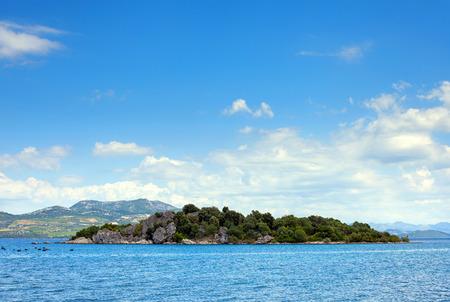 Serene Adriatic landscape, Croatia