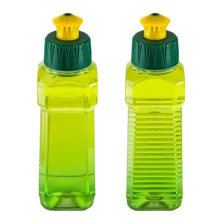 Liquid dishwasher detergent package