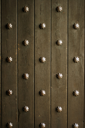 detail of vintage medieval doors Stock Photo - 121562744