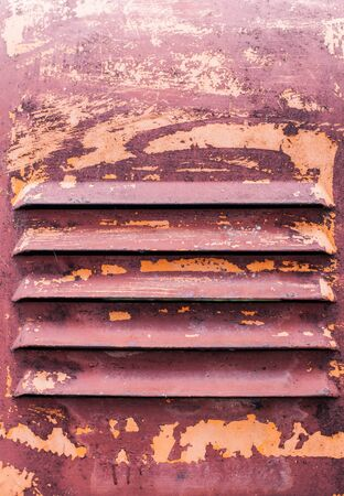 Rusty texture of machinery equipment