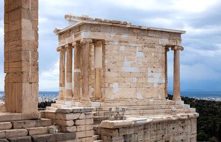 Athena temple, Acropolis of Athens