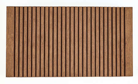 Piece of wpc material - ideal for flooring and decking of terraces