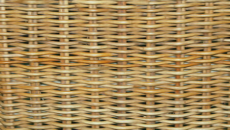 wooden braided background Stock Photo