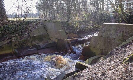 creek of a river landscape Stock Photo