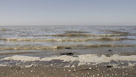 Beach small waves