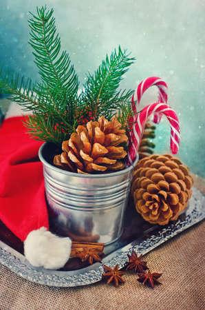 greeting christmas: Vintage christmas greeting card