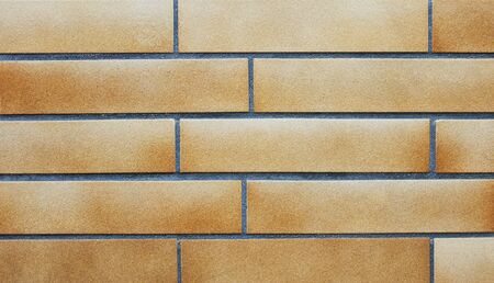 clinker: Wall with brown clinker bricks and dark joints