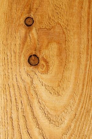 Closeup of a pinewood texture with knots Standard-Bild