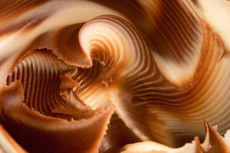 Closeup of a glass of sweet spread Standard-Bild