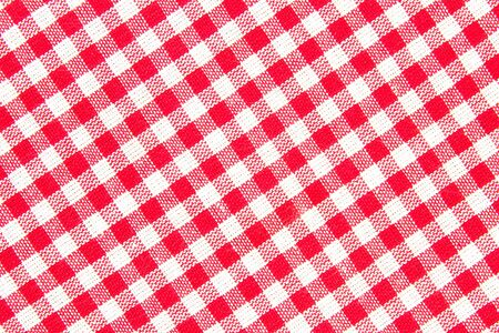 Checked pattern with white and red color Stock Photo - 11744539