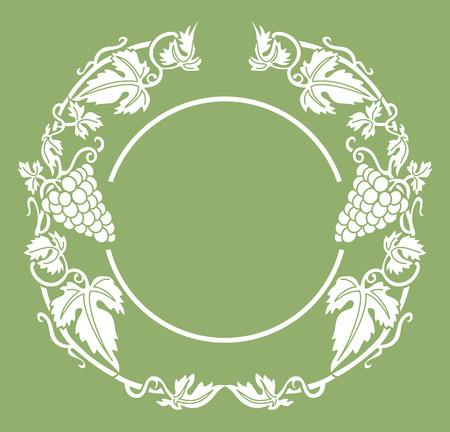 uvas: vino ronda