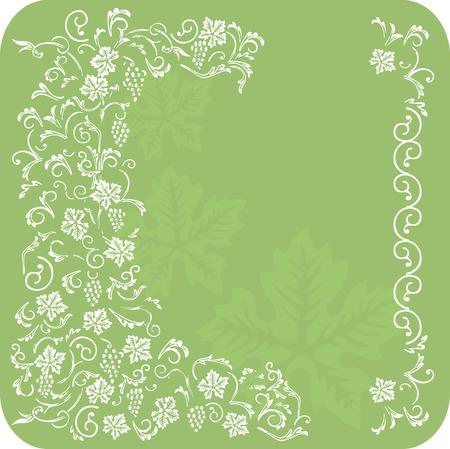 vine background Illustration