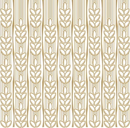 wheat illustration: wheat background