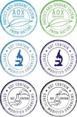gm: creative stamp Illustration