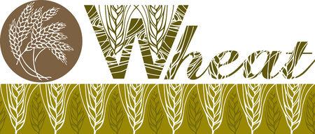 centeno: barra de trigo y logotipo