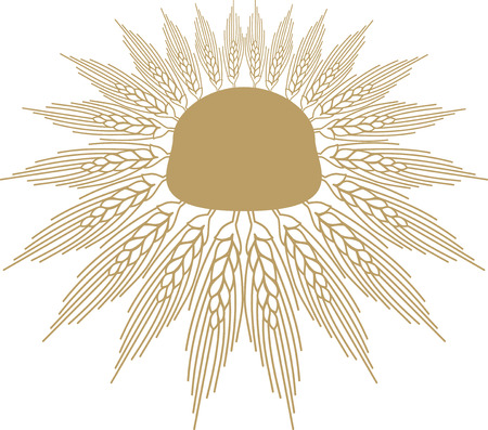 wheat sheaf Vector