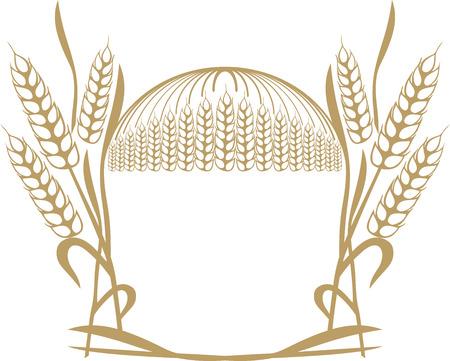 wheat ears Stock Vector - 4743306