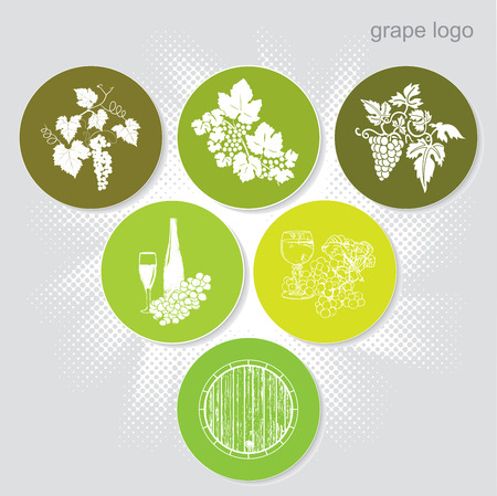 Grape sign (icons)