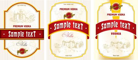 Label design - vodka