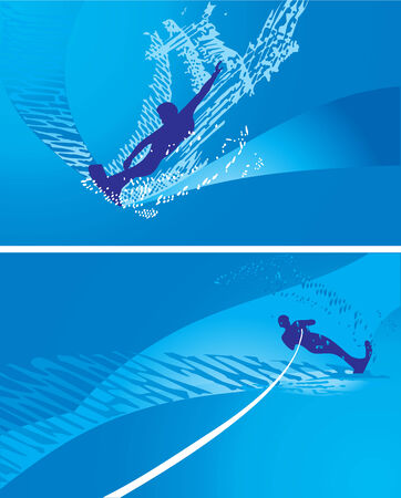 windsurf: Abstract windsurf illustration