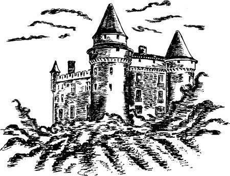 castello medievale: Antico castello