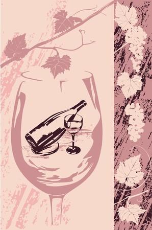 Wine label Stock Vector - 9765809