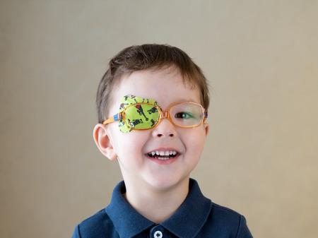 benda sull'occhio