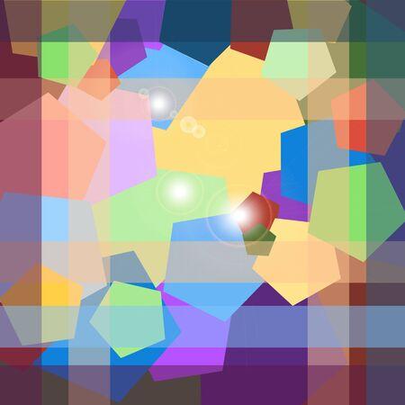 pentagon: abstract background pentagon