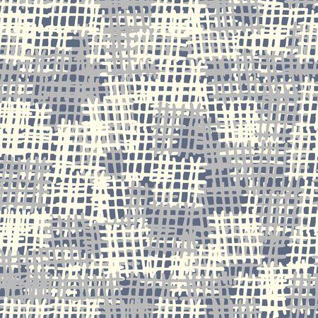 çuval bezi: Seamless background pattern. Gray burlap vector. Imitation of canvas