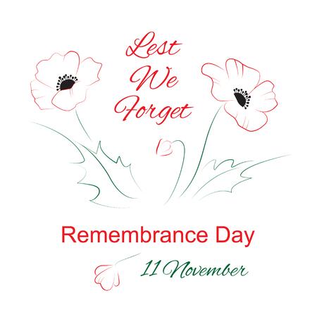 remembrance: Remembrance day symbol