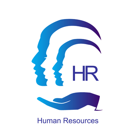 Human resources design concept