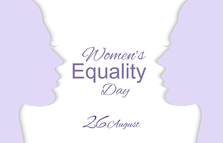 Womens Equality Day 向量圖像