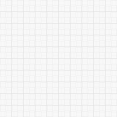 Seamless vector geometry pattern squares. White and gray texture. Ilustração