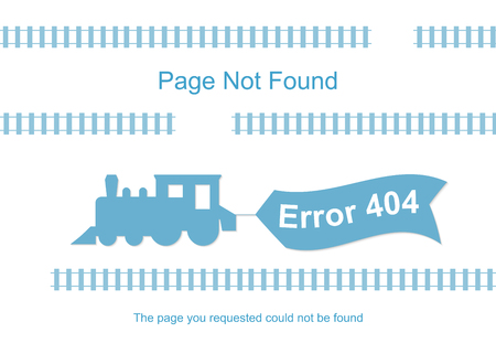 Train with 404 error notification