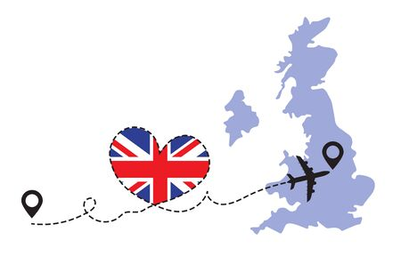 Travel to Great Britain by airplane