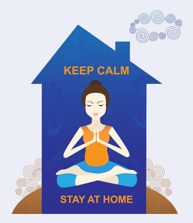 Keep calm and stay at home.