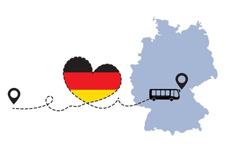 Travel to Germany by bus