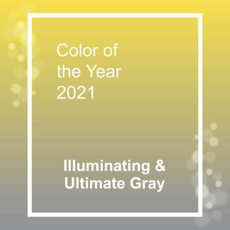 Ultimate Gray and Illuminating, color of the year