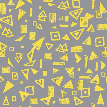 Vector modern seamless geometry pattern