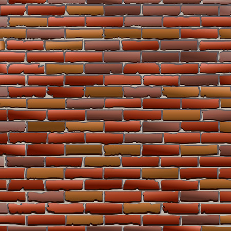 Old brick wall texture with gradient fill as a background