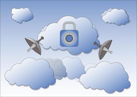 reveal: Encrypted communication using VPN.