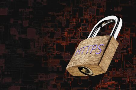 Web page encryption with HTTPS