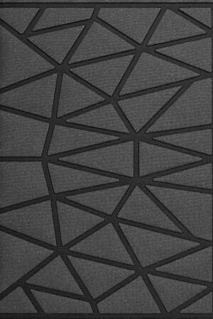 Black triangles texture background..