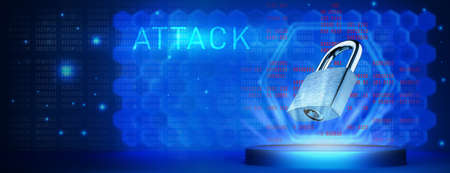 The concept of an attack on computer systems. Hacking elections. concept of a hacker attack on information and computer systems.
